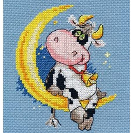 Набор для вышивания арт.Алиса - 0-117 'Сладких снов' 10х13 см