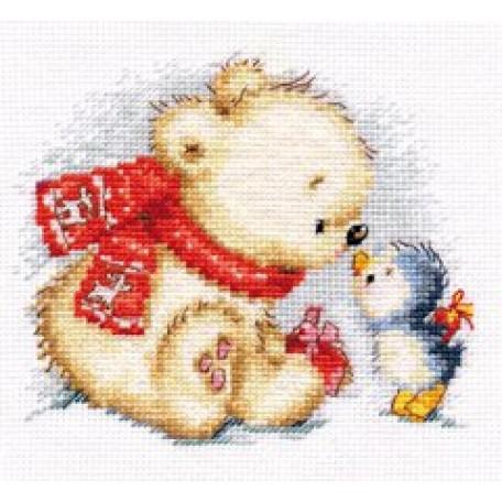 Набор для вышивания арт.Алиса - 0-121 'Самое дорогое для тебя' 13х12 см
