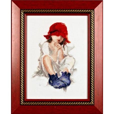 Набор для вышивания Алисена арт.1001 'Красная шапочка' 15*23 см