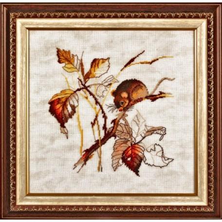 Набор для вышивания Алисена арт.1004 'Золотая осень' 27*25 см