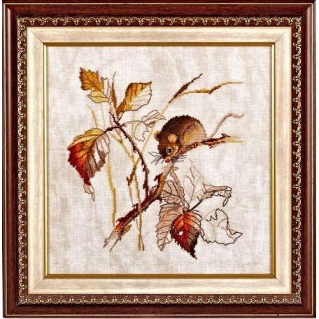 Набор для вышивания Алисена арт.1005 'Золотая осень' 25*24 см