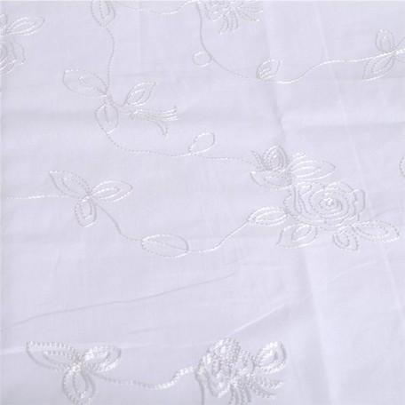 Ткань вышитая арт.1418-j цв.белый