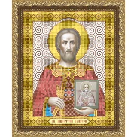 Наборы для вышивания бисером Арт Соло арт. NI-4022 'Святой Великий князь Дмитрий Донской' 20,5х25