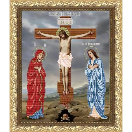 Рисунок на ткани арт. VIA3002 Распятие Господне 29х37 см