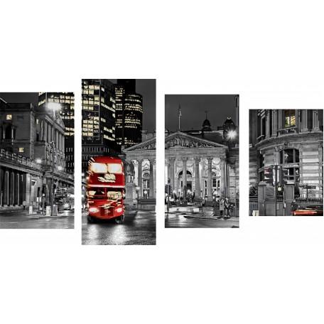 Набор для вышивания бисером 'Астрея Арт' арт.АСТ.11004 Лондон 27х50, 27х60, 27х48, 27х39см