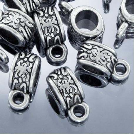 Бейл металл арт. МБ.УТ2072 цв.ант.серебро 11х5 мм 10шт.