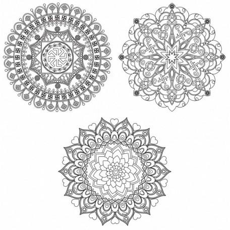 Живопись на картоне Белоснежка арт.БЛ.2950-CS 'Магические мандалы' Семья и продолжение рода 29,5х29,5 см
