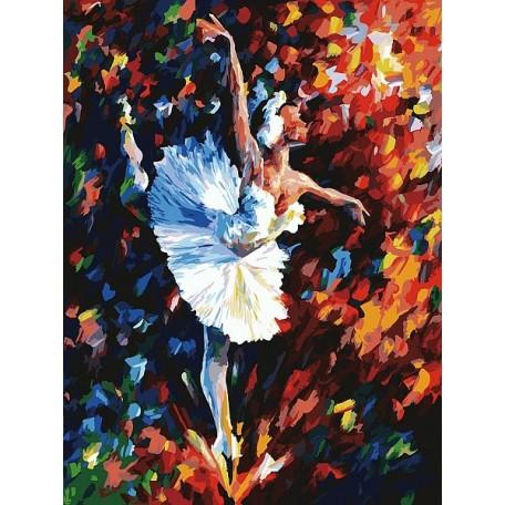 Живопись на картоне Белоснежка арт.БЛ.3031-CS Танец души 30х40 см