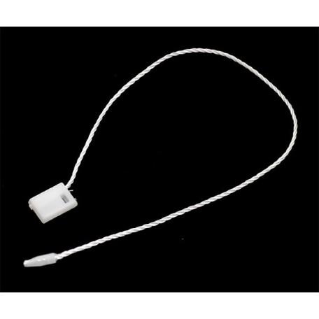 Биркодержатель-пломба арт.0171-0088 (1,0см*0,7см*19см) цв.101 белый упак.1000шт.