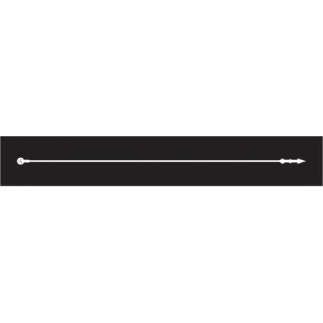 Биркодержатели петля 175 мм цв.белый (уп.=5000 шт.)
