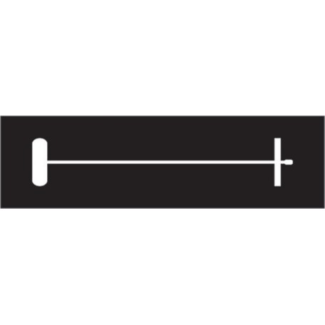 Биркодержатели ПРЯМЫЕ 125 мм (уп.=5000 шт.)
