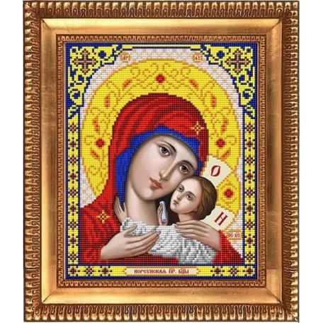 Рисунок на ткани бисером БЛАГОВЕСТ арт.И-4022 Богородица Корсунская 20х25 см