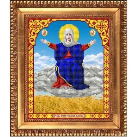 Рисунок на ткани бисером БЛАГОВЕСТ арт.И-4028 Спорительница хлебов 20х25 см