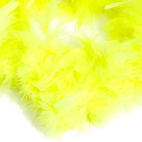 Боа - перо арт.FBY-50-8 цв.салатовый 50гр уп.2м