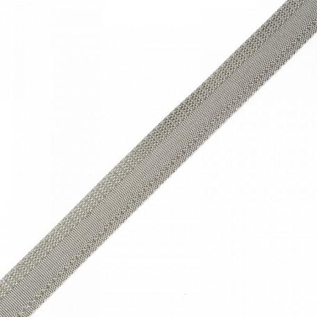 Тесьма брючная арт.3281 рис.7571(966) шир.15мм цв.10 св. серый