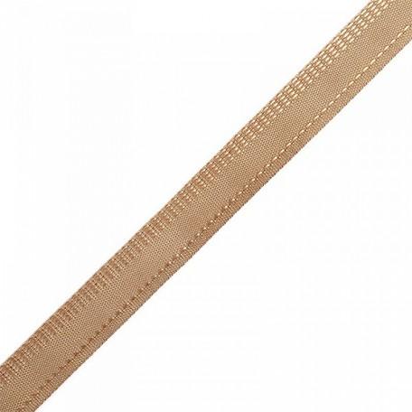 Тесьма брючная арт.3281 рис.7571(966) шир.15мм цв.17 св.коричневый