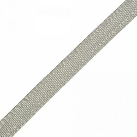 Тесьма брючная (полиэфирная) арт.4316 шир.15мм цв.серый А