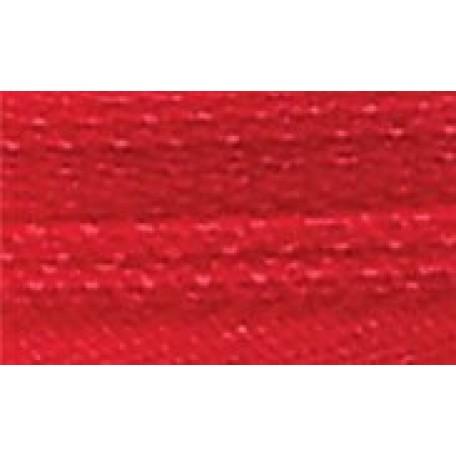 Молния брючная №4, 18 см. замок PL цв.145 красный А