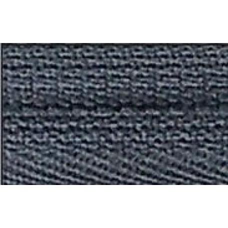 Молния брючная №4, 18 см. замок PL цв.309 т.серый