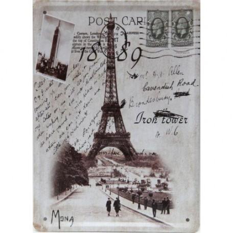 EN.37444 Постер 'Открытка из Парижа' 15х20см