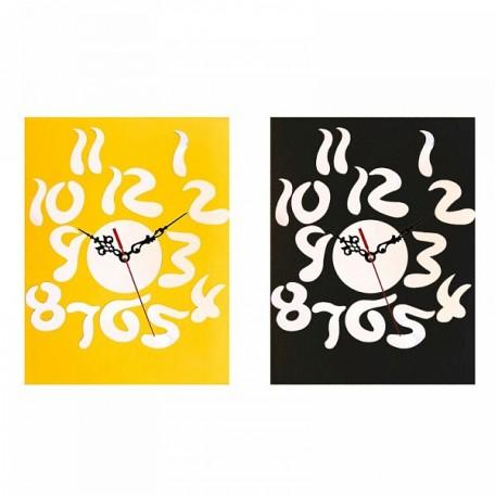 СЛ.729558 Часы-наклейка, Цифры витые (многоразового использования)