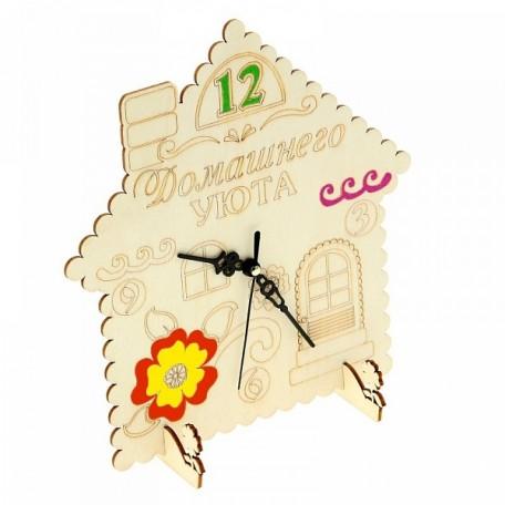 СЛ.799964 Часы настольные Хэнд-Мэйд 'Домашний уют' 20х18,5см