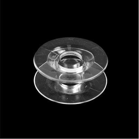 Шпулька к БШМ арт.ТВ-0350-0045 прямая цв. прозрачный пластик