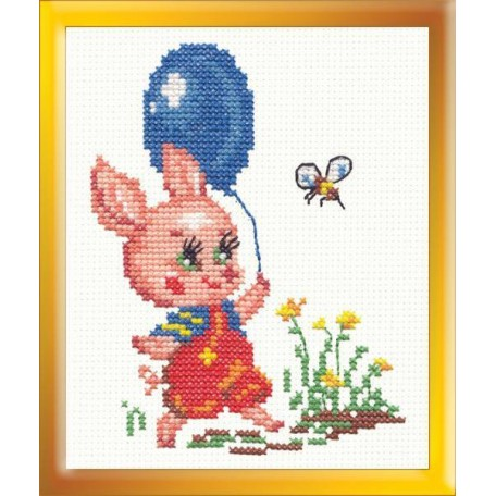 Набор для вышивания арт.ЧИ-13-10 (Д-044) М 'Пятачок' 9х13см