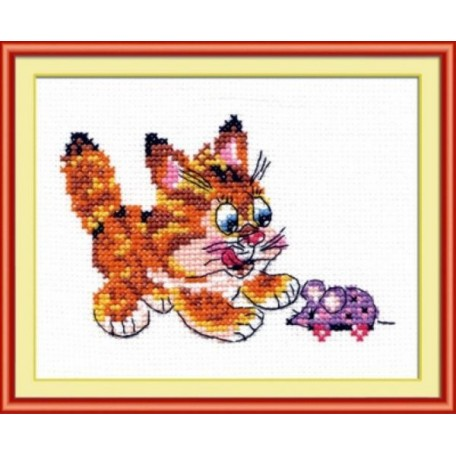 Набор для вышивания арт.ЧИ-15-10 (Д-090) 'Съем!' 12х8см