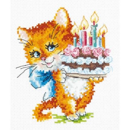 Набор для вышивания арт.ЧИ-15-18 И счастья в личной жизни 12х15 см