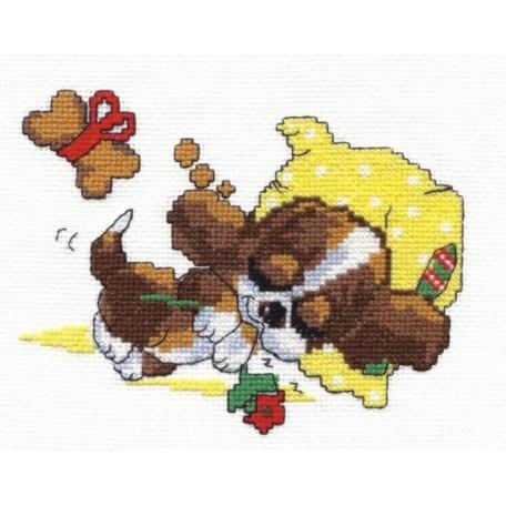 Набор для вышивания арт.ЧИ-16-10 (Д-127) 'Сладкие сны' 15х13 см