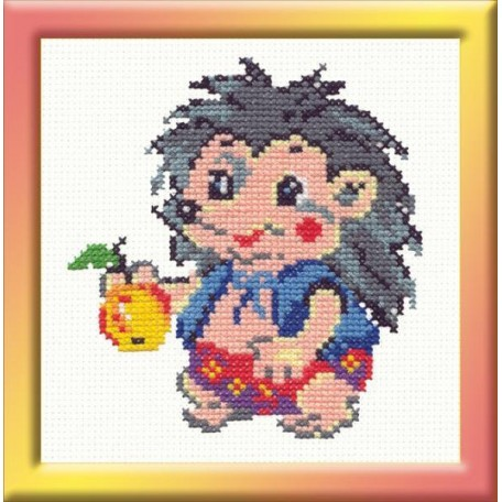 Набор для вышивания арт.ЧИ-18-11 (Д-030) М 'Ёжик' 10х12см