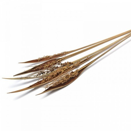 SBU.0065 Коко боут с соцветием цв.натуральный 75см уп.5 шт