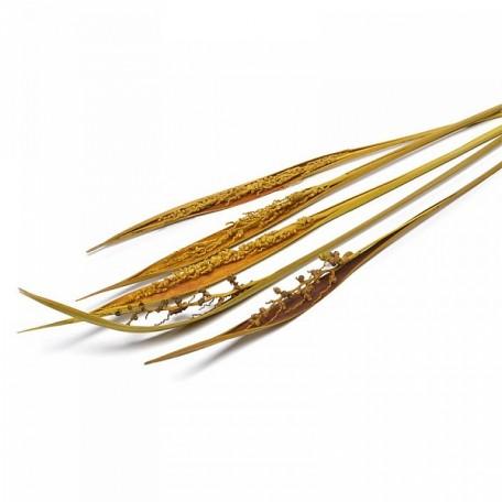 SBU.0069 Коко боут с соцветием цв.желтый 75см уп.5 шт