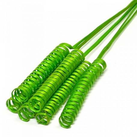 Ветки декоративные (curly cone) арт.Ц7.0063055 цв.зеленый 6062-450 уп.6шт