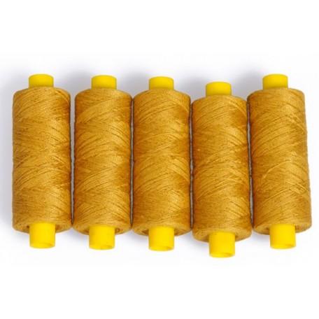 Нить джинсовая цв. желтый 5 кат. 250м