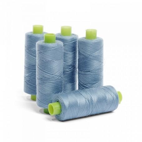Нить джинсовая цв. т.голубой 5 кат. 250м