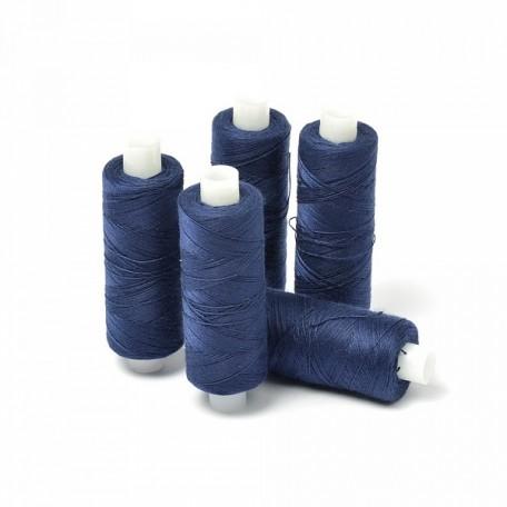 Нить джинсовая цв. т.синий 5 кат. 250м