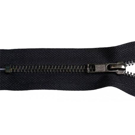 Молния джинсовая оксид №5, 18 см., цв.F332 черный