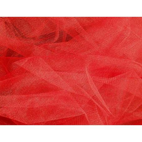 Фатин мягкий шир.150см цв.красный фас.10 м