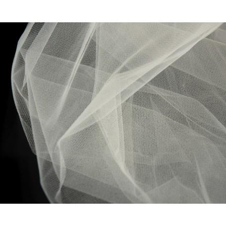 Фатин Д03 арт.16912 мягкий шир.160см цв.айвари фас.45,7 м