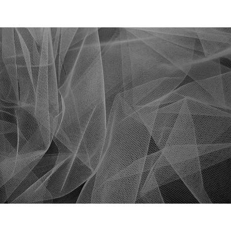 Фатин мягкий шир.150см цв.серый фас.10 м