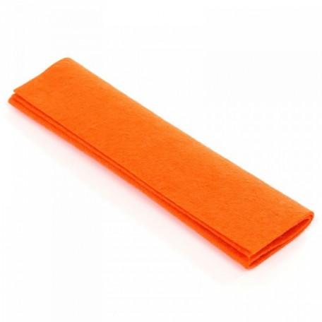 WIT.V504 Войлок 20*20см, 100% шерсть DE WITTE ENGEL цв.светло-оранжевый