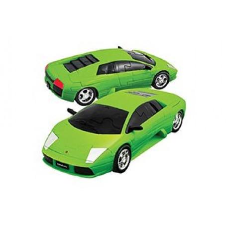 БМ.57066 Модель Пазл 3D Lamborgini матово зеленый