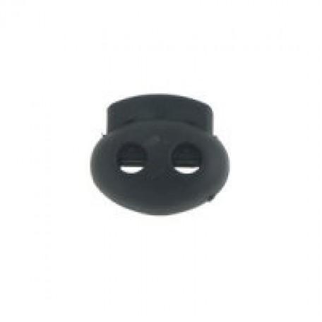 Фиксаторы пластмассовые арт.СБ27002 in-5 мм 24х22х9 мм цв.99 черн.