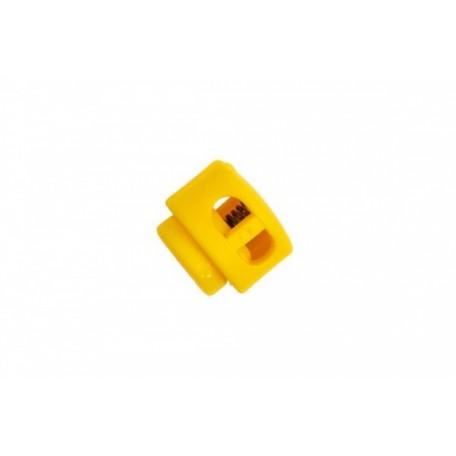 Фиксаторы пластмассовые арт.СМ27001, цв.23 желтый in-3 мм 13х11 мм