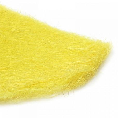 Набор упаковки для букета, сизаль 95064511 арт.Ц7.1432684 60х30см цв.желтый уп.10шт