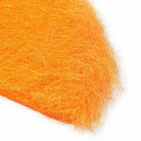 Набор упаковки для букета, сизаль арт.Ц7.WF13109O60, 60х30 см цв.оранжевый уп.10шт