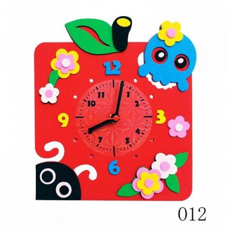 Набор для творчества из фоамирана Яблоко Часы арт.КК.CL012