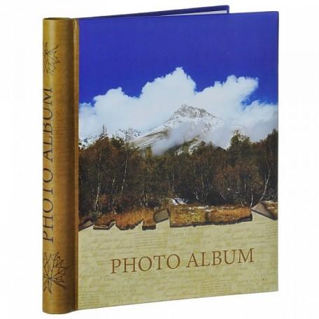 EN.38783 Фотоальбом с картонной обложкой, крепление на гребне 'Осень' 10листов 24х29см